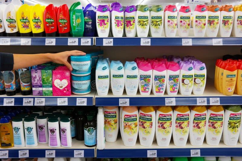 Haarpflegeprodukte lizenzfreie stockfotos