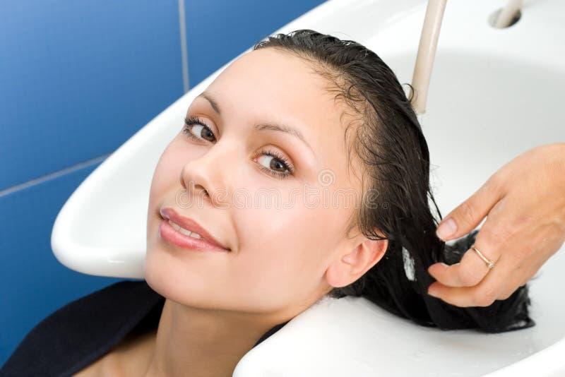 Haarreinigung stockbild