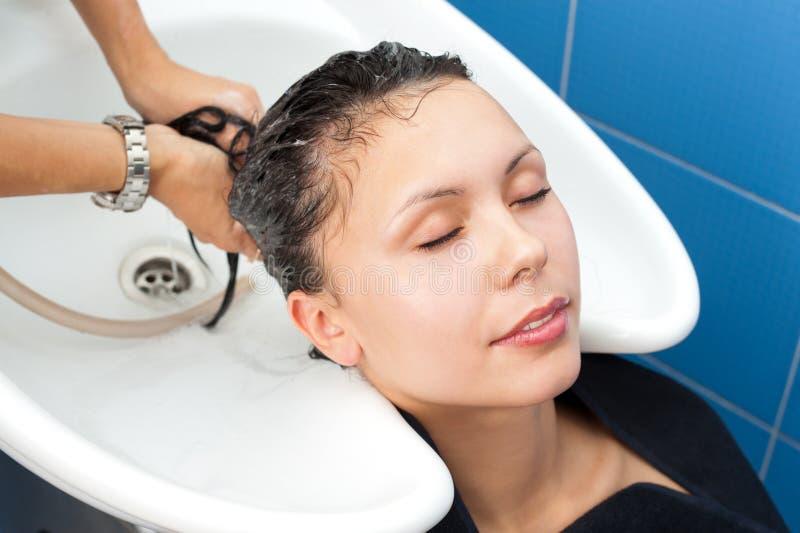 Haarreinigung lizenzfreies stockbild