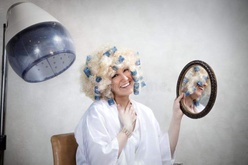 Haarsalon stockfotografie