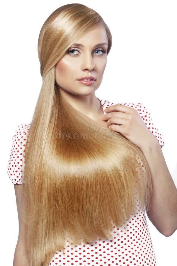 Haarschönheit lizenzfreie stockfotos