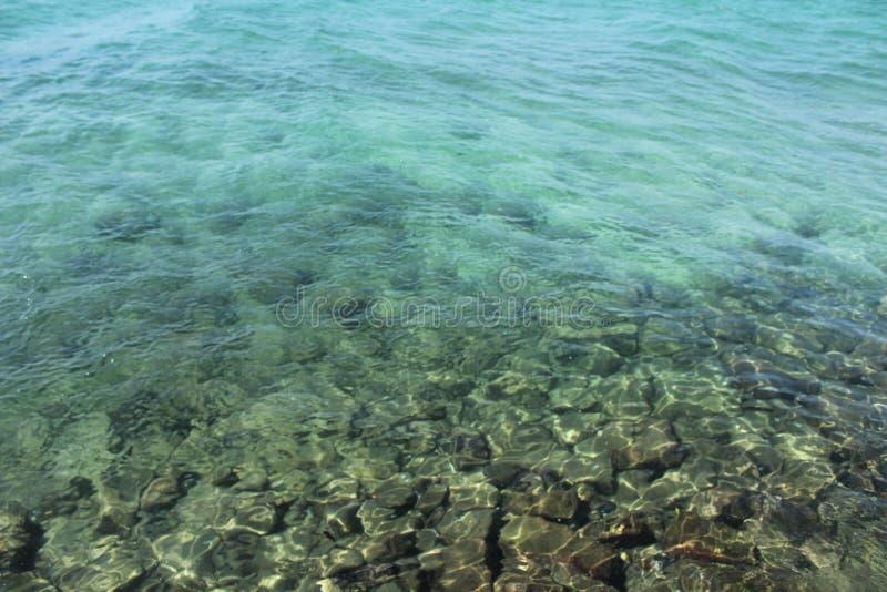Haarscharfes Wasser bei Andaman lizenzfreies stockbild