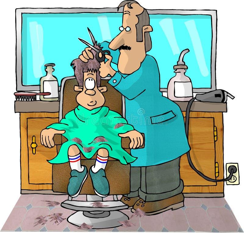 Download Haarschnitt stock abbildung. Illustration von trimmer, karikatur - 48647