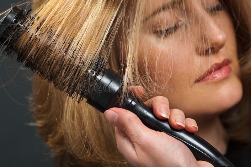 Haarstilist stockfotografie