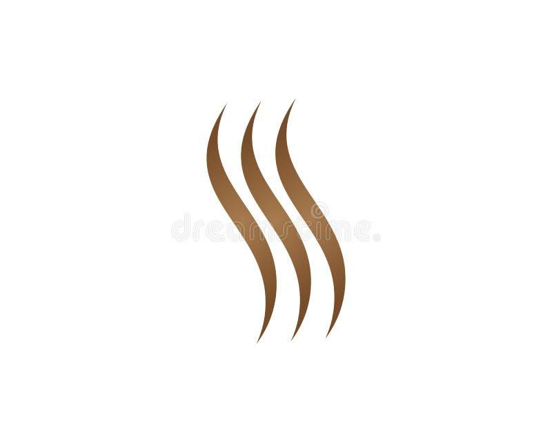Haarvektorikone stock abbildung