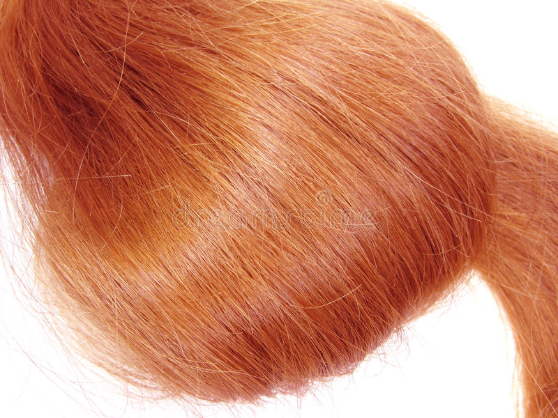 Haarwelle stockfotos