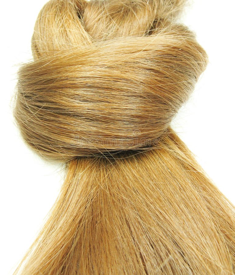 Haarwelle lizenzfreies stockbild