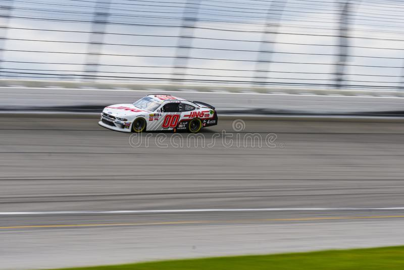 HAAS NASCAR Racing stock image