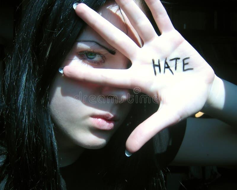 Haat stock fotografie