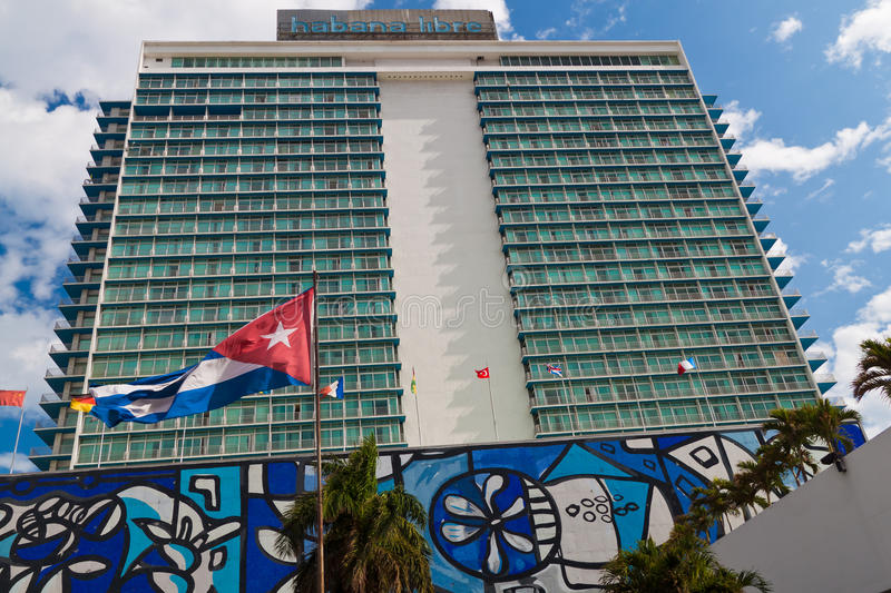 Habana Libre Hotel in Havana, Cuba stock photography