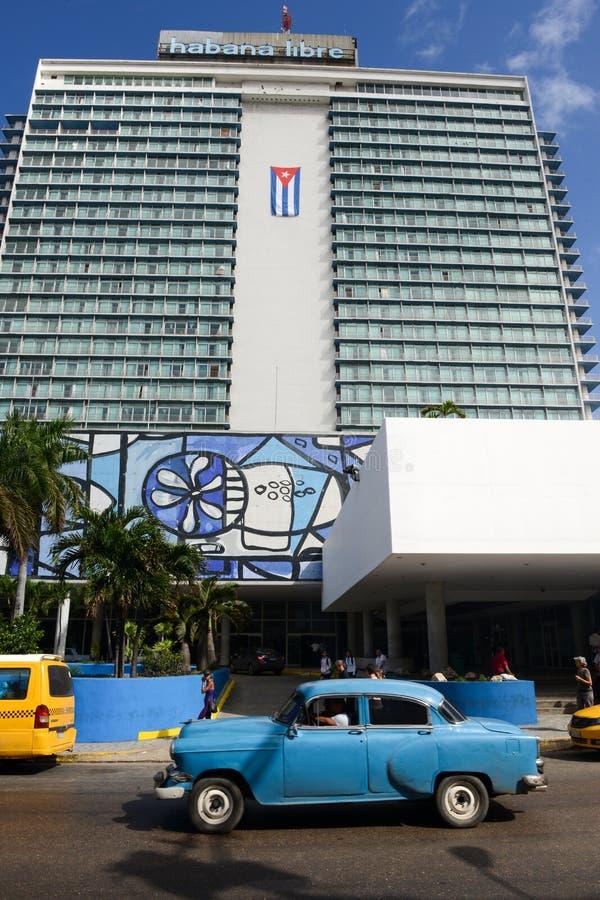Habana Libre Hotel in Havana, Kuba stockbild