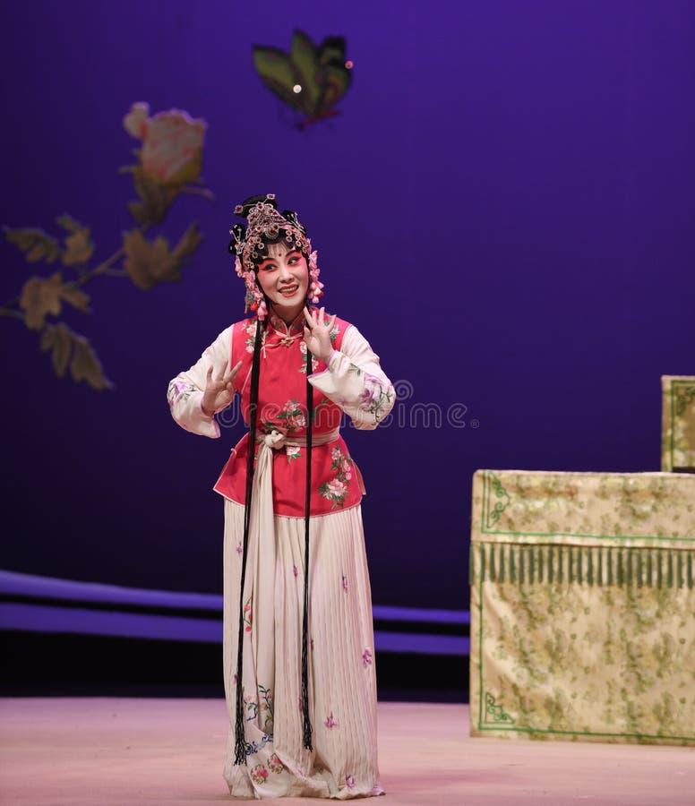 "Haben Sie das Geschenk des Oper Mundhong Niang-Kunqu ""the West-Chamberâ€- lizenzfreies stockbild"