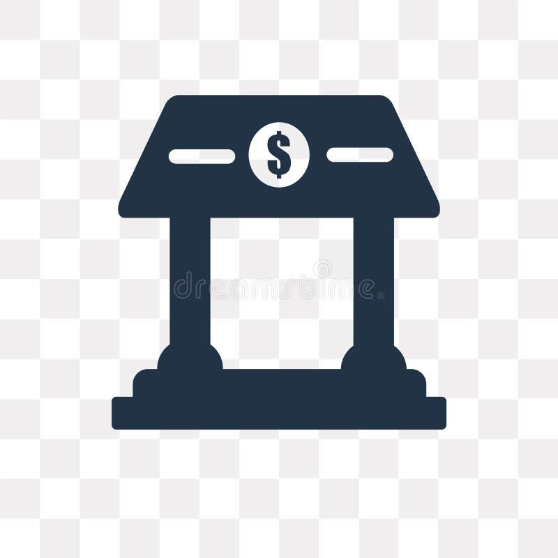 Haben Sie die Vektorikone ein bankkonto, die auf transparentem Hintergrund, Banktransport lokalisiert wird vektor abbildung