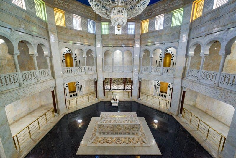 Habib Bourguiba Mausoleum fotografering för bildbyråer