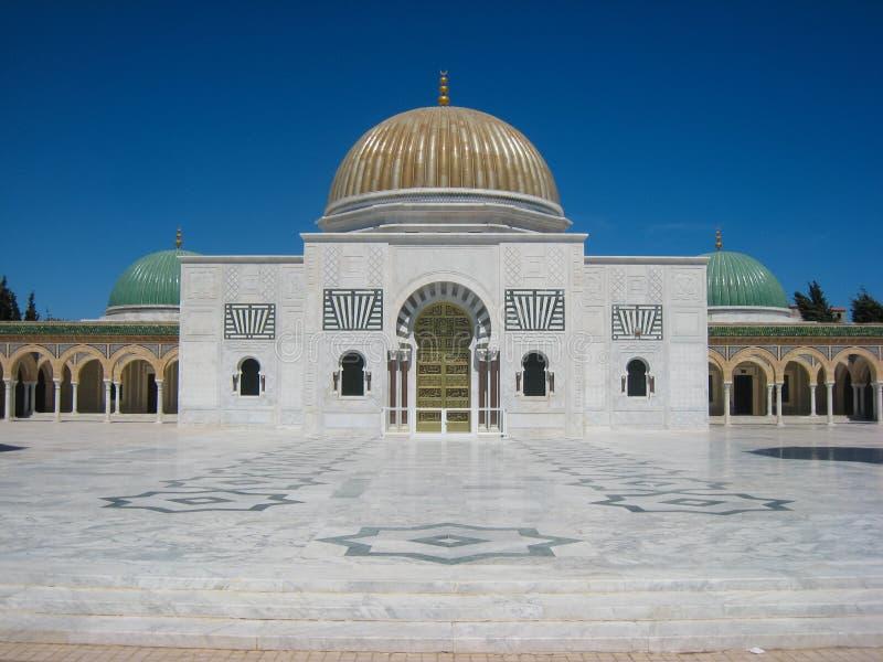 Het Mausoleum van Habib Bourguiba. Monastir. Tunesië stock fotografie