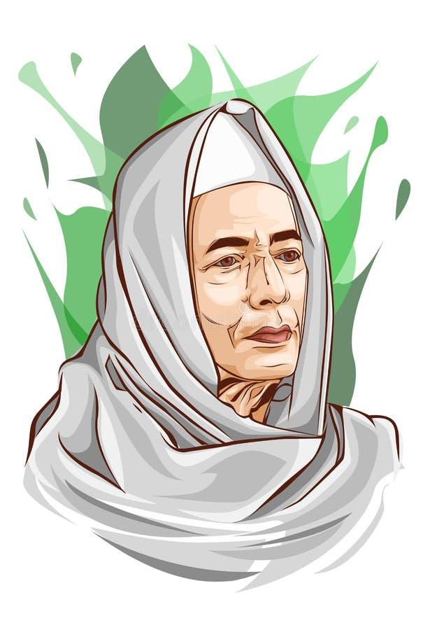 Habib Luthfi kosz Yahya obrazy royalty free