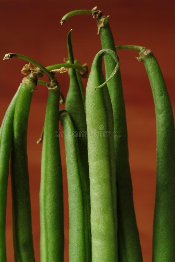 Habichuelas verdes imagenes de archivo