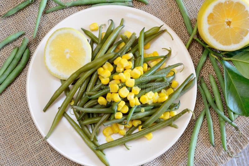 Download Habichuelas Verdes Y Patatas Imagen de archivo - Imagen de patatas, limón: 44850183