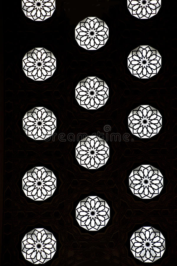 Habilidade tradicional marroquina ilustração stock