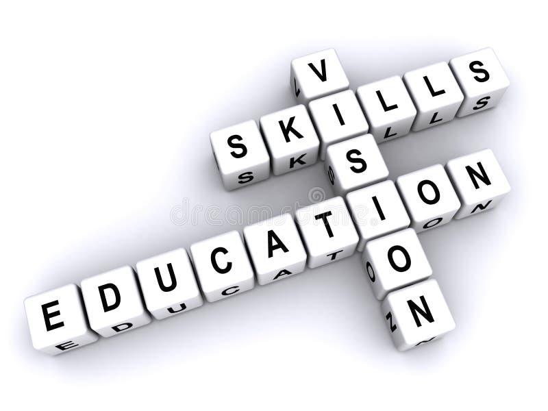 Habilidades y visión de la educación libre illustration