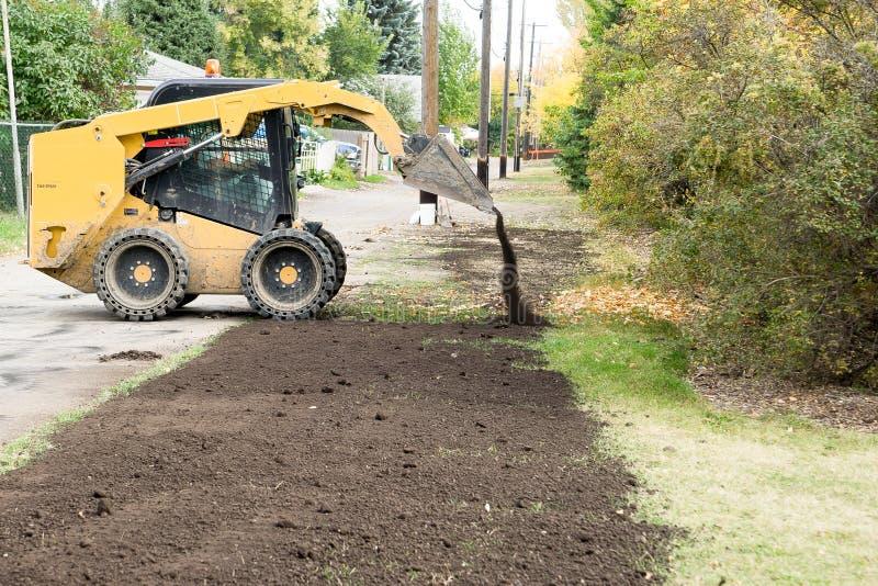 Download Habillage De Terrain Végétal Photo stock - Image du construction, ruelle: 45366226