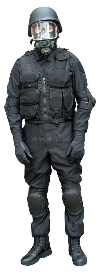 Habillement de forces spéciales photographie stock