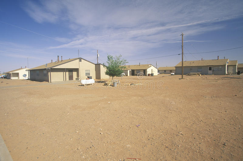 Habitação social no Navajo foto de stock royalty free