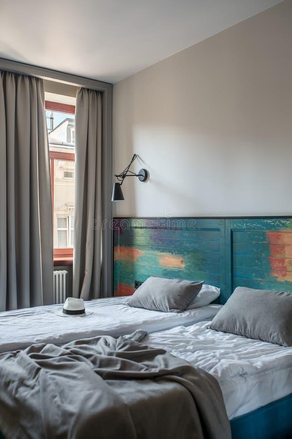 Habitación con estilo fotografía de archivo