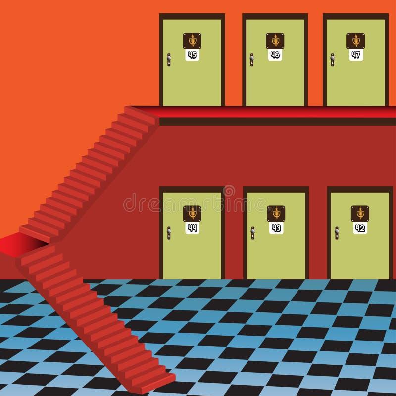 Habitaciones libre illustration