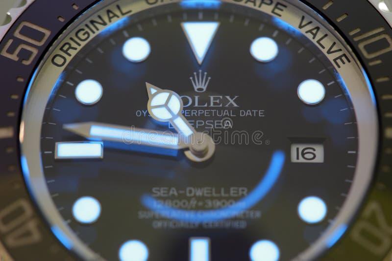 Habitante de alta mar del mar de Rolex de la imagen común fotografía de archivo libre de regalías