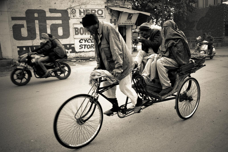 Habitants d'Amritsar, Pendjab, Inde image libre de droits