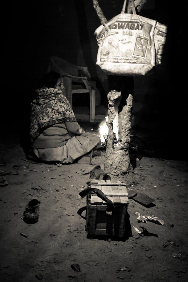 Habitants d'Amritsar, Pendjab, Inde images stock