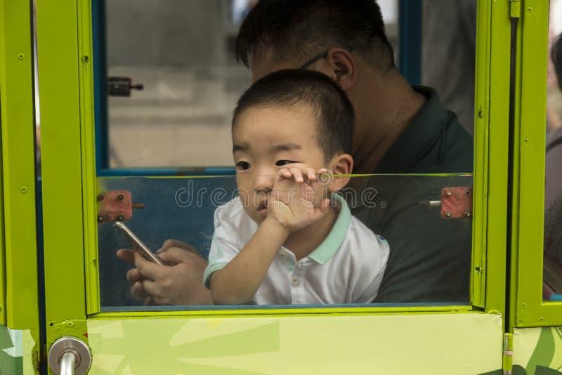 Habitants de Changhaï la ville la plus riche en Chine photographie stock