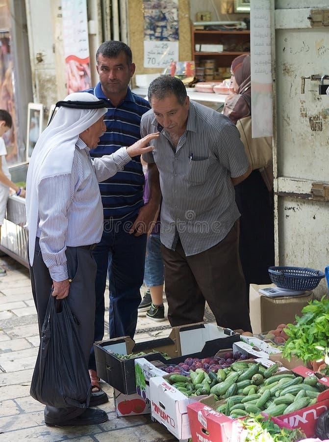 Habitants de Jérusalem photo stock