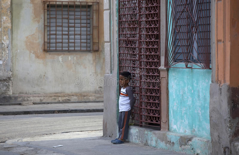 Habitants de La Havane photos stock