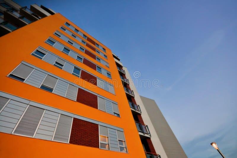 habitation здания новый стоковые изображения