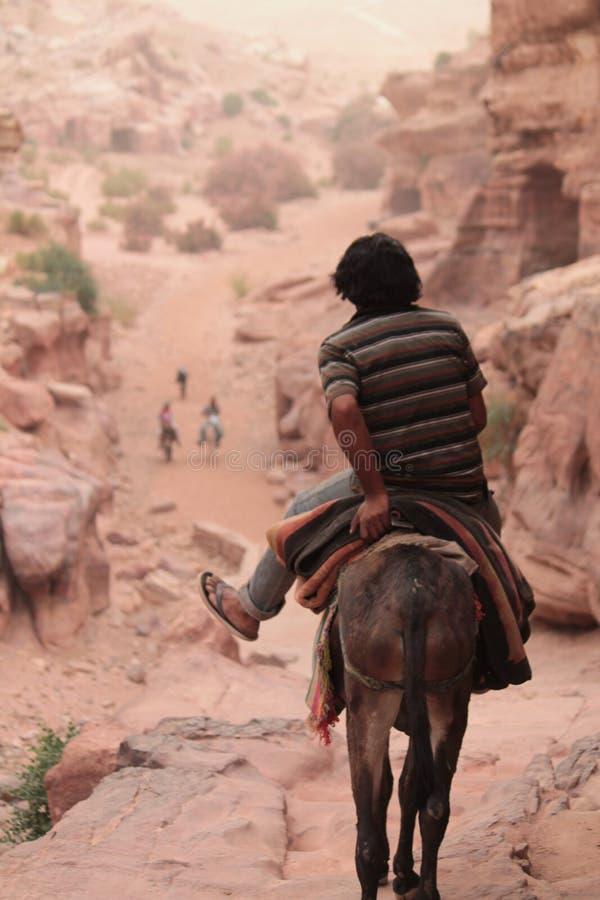 Habitez en Wadi Musa images stock