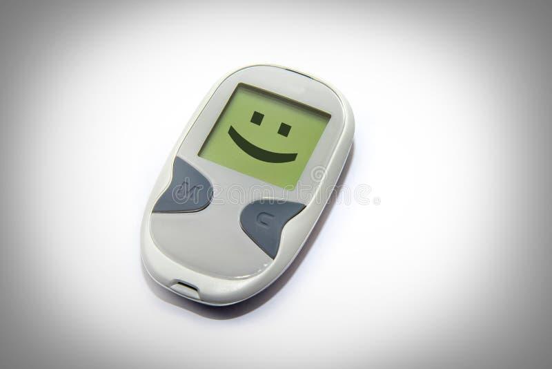 Habitudes positives de santé qui combattent le diabète image stock