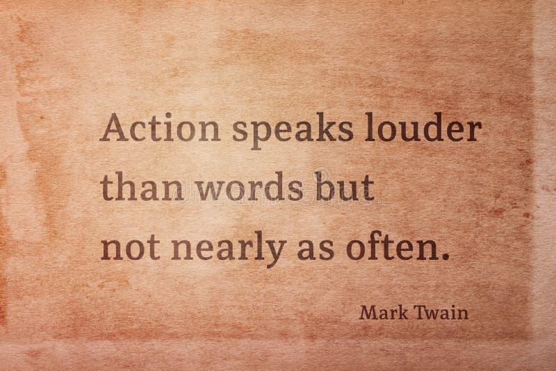 Habla a un Twain más ruidoso ilustración del vector