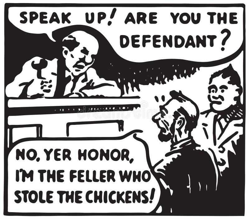 Hable para arriba libre illustration