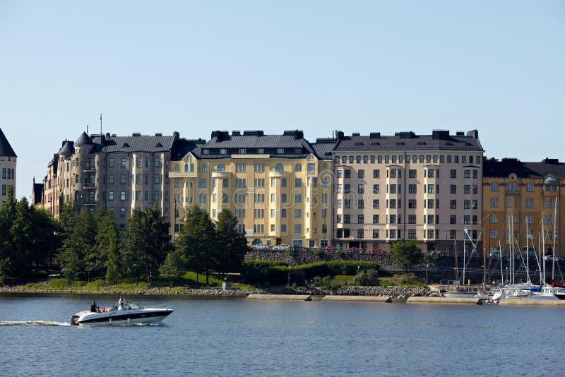 Habour-Ansicht von Helsinki lizenzfreie stockbilder