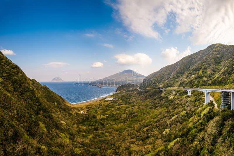 Hachijojima-Insel, Japan lizenzfreies stockfoto