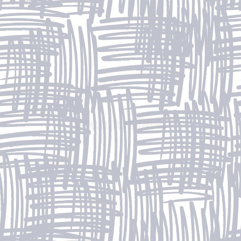 Hachure verticale et horizontale illustration de vecteur