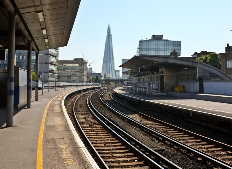 Hacia el casco, ciudad de Londres imagen de archivo libre de regalías