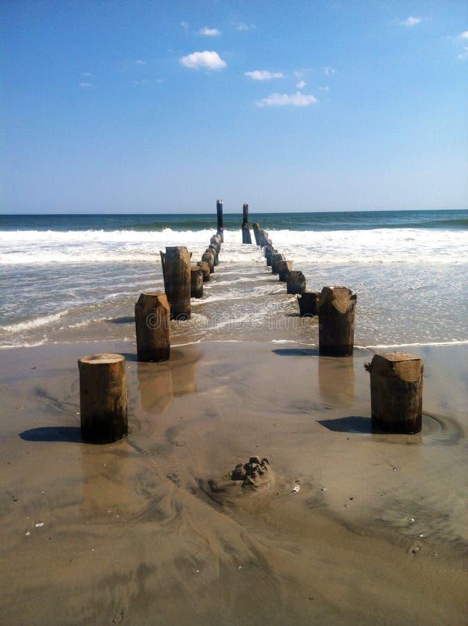 Hacia fuera al mar imagen de archivo libre de regalías