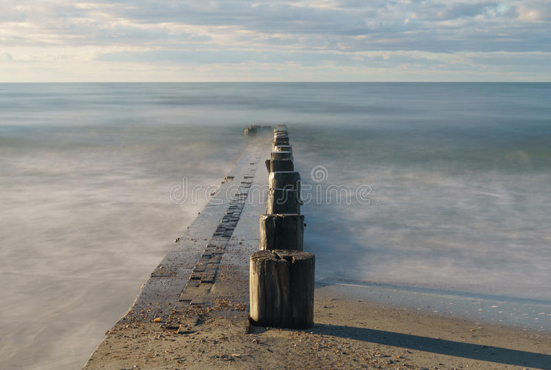 Hacia fuera al mar foto de archivo libre de regalías