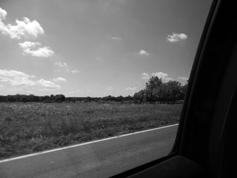 Hacia fuera la ventana fotografía de archivo libre de regalías