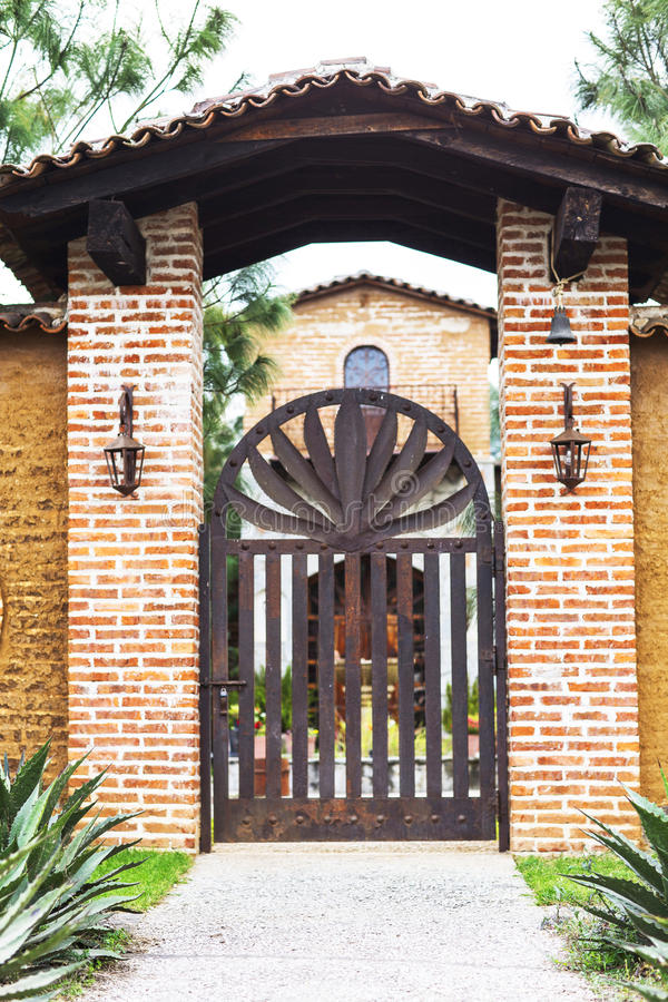 hacienda μεξικανός στοκ φωτογραφία με δικαίωμα ελεύθερης χρήσης