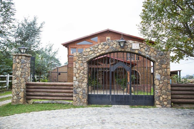 hacienda μεξικανός στοκ εικόνες
