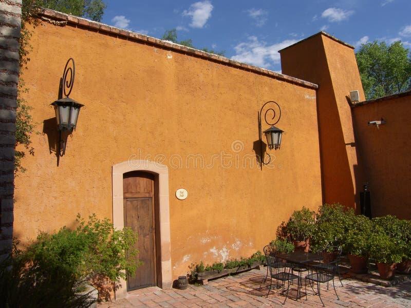 hacienda παλαιό στοκ φωτογραφία